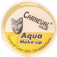 Carneval Color Aqua Make Up Gelb Dose 10ml