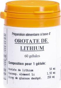 Immagine del prodotto Oligopharm Orotate De Lithium Kapseln 50mg 60 Stück