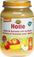 Image du produit Holle Pomme, Banane, Abricot après le 6ème mois Bio 190g
