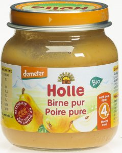 Product picture of Holle Pure Pear from the 4th month Organic 125g