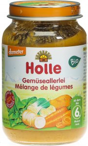 Product picture of Holle Vegetables after the 4th month of Organic 190g
