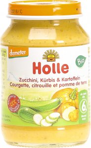 Product picture of Holle Courgette, Pumpkin, Potatoes from the 4th month Organic 190g