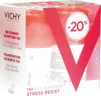 Produktbild von Vichy DeoDuo Stress Resist Anti-Transpirant 72H Roll-On 2x 50ml