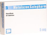 Metolazon Galepharm Tabletten 5mg 20 Stück