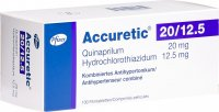 Accuretic 20/12.5mg 100 Filmtabletten