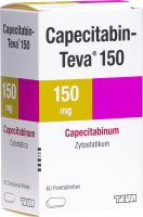 Image du produit Capecitabin Teva Filmtabletten 150mg 60 Stück