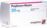 Pioglitazon Mepha Tabletten 30mg 98 Stück