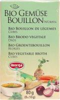 Image du produit Morga Gemüse Bouillon Würfel Bio 8 Stück