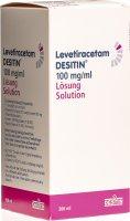 Immagine del prodotto Levetiracetam Desitin Lösung 100mg/ml 300ml