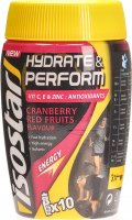 Isostar Hydrate & Perform Red Fruits Pulver 400g