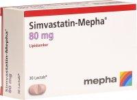 Image du produit Simvastatin Mepha Lactabs 80mg 30 Stück