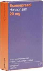 Image du produit Esomeprazol Helvepharm Kapseln 20mg 56 Stück