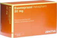 Image du produit Esomeprazol Helvepharm Kapseln 20mg 98 Stück