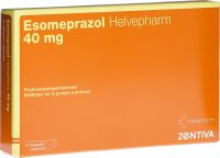 Image du produit Esomeprazol Helvepharm Kapseln 40mg 14 Stück