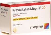 Image du produit Pravastatin Mepha Tabletten 20mg 100 Stück