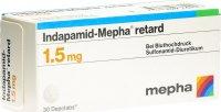 Image du produit Indapamid Mepha Retard Depotabs 1.5mg 30 Stück