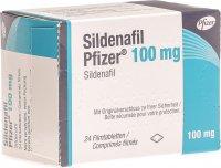Image du produit Sildenafil Pfizer Filmtabletten 100mg 24 Stück
