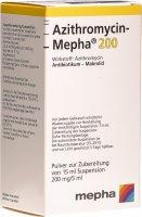 Immagine del prodotto Azithromycin Mepha Suspension 200mg/5ml 15ml