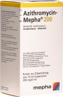 Azithromycin Mepha Suspension 200mg/5ml 15ml