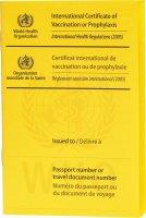 Immagine del prodotto WHO Impfausweis International Gelb