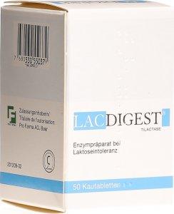 Image du produit Lacdigest Kautabletten Dose 50 Stück