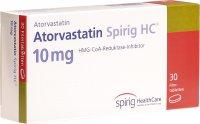 Image du produit Atorvastatin Spirig HC Filmtabletten 10mg 30 Stück