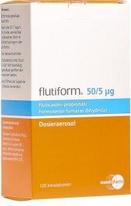 Image du produit Flutiform 50/5 Dosieraeros 120 Dos