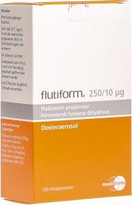 Image du produit Flutiform 250/10 Dosieraeros 120 Dos