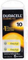 Immagine del prodotto Duracell Easytab Batt 10 Zinc Air D6 1.4v 6 Stück