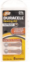 Immagine del prodotto Duracell Hearing Aid Batterie 312 1.4V Zinc Air 6 Stük