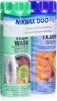 Produktbild von Nikwax Duo-Pack Clean & Waterproof 2x 300ml
