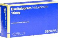 Image du produit Escitalopram Helvepharm Filmtabletten 10mg 10 Stück