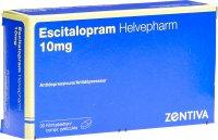 Image du produit Escitalopram Helvepharm Filmtabletten 10mg 30 Stück