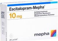 Image du produit Escitalopram Mepha Lactabs 10mg 28 Stück