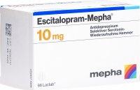 Image du produit Escitalopram Mepha Lactabs 10mg 98 Stück