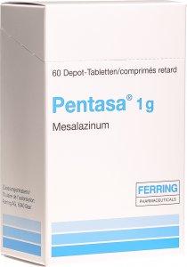 Image du produit Pentasa Depottabl 1g 60 Stück