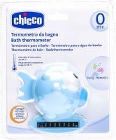 Chicco Badethermometer Globe Fish Light Blue 0m+