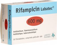 Image du produit Rifampicin Labatec Filmtabletten 600mg 30 Stück