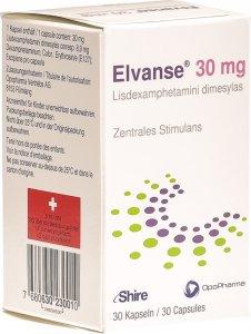 Image du produit Elvanse Kapseln 30mg Flasche 30 Stück