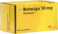Image du produit Betmiga Retard Tabletten 50mg 90 Stück