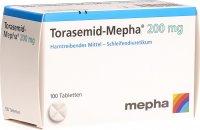 Image du produit Torasemid Mepha Tabletten 200mg 100 Stück