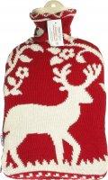 Image du produit Sänger Bouillotte 2L bonneterie en tricot cerf rouge