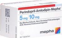 Image du produit Perindopril Amlodipin-Mepha Tabletten 5mg/10mg 30 Stück