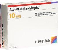 Image du produit Atorvastatin Mepha Lactabs 10mg 30 Stück