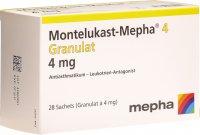 Image du produit Montelukast Mepha Granulat 4mg 28 Stück