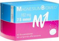 Image du produit Magnesium Biomed Brausetabletten (neu) 40 Stück