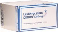 Image du produit Levetiracetam Desitin Filmtabletten 1000mg 100 Stück