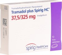 Image du produit Tramadol Plus Spirig HC Filmtabletten 37.5/325mg 10 Stück