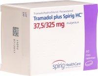Image du produit Tramadol Plus Spirig HC Filmtabletten 37.5/325mg 60 Stück