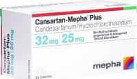 Image du produit Cansartan Mepha Plus Tabletten 32/25 98 Stück